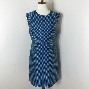 DVF Madyson geometric print dress